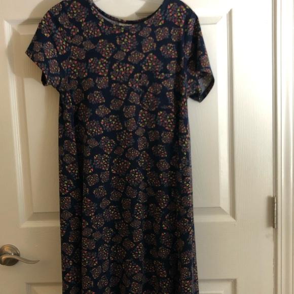 LuLaRoe Dresses & Skirts - LulaRoe Carly dress!